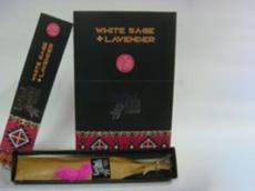 Incienso Hari Darshan White Sage + Lavender - Laura Casart