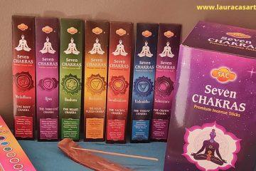 Equilibra tus Chakras con el Incienso Seven Chakras - Blog - Laura Casart